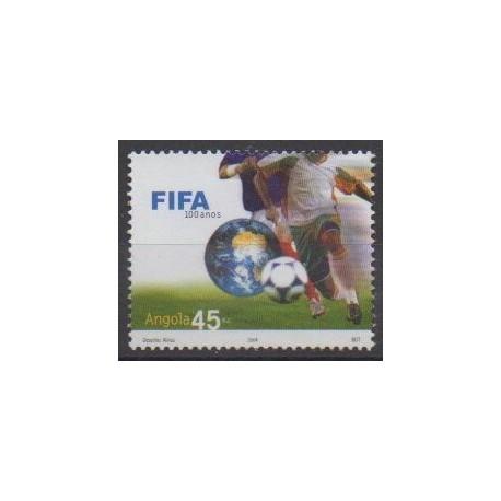 Angola - 2004 - No 1588 - Football