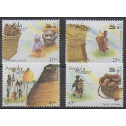 Angola - 2005 - Nb 1597/1600 - Exhibition