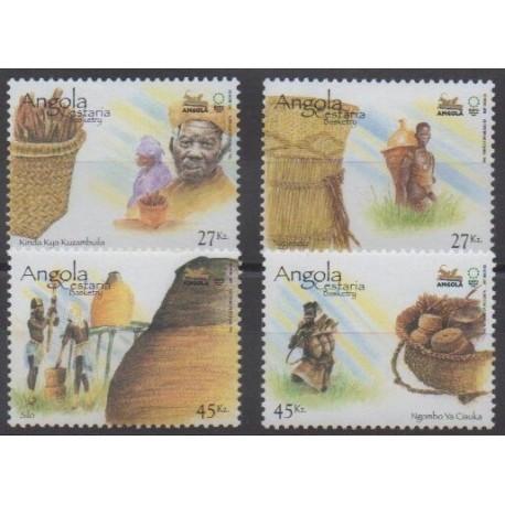 Angola - 2005 - No 1597/1600 - Exposition