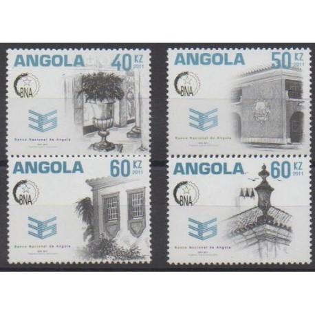 Angola - 2011 - Nb 1685/1688