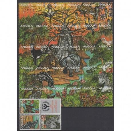Angola - 1990 - Nb 781/813 - Animals
