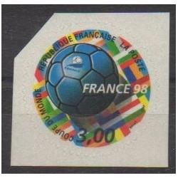 France - Autoadhésifs - 1998 - No 17 - Coupe du monde de football