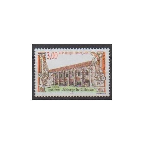 France - Poste - 1998 - Nb 3143 - Churches