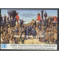 Man (Ile de) - 1992- No BF 19 - Trains