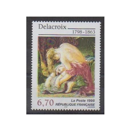 France - Poste - 1998 - No 3147 - Peinture