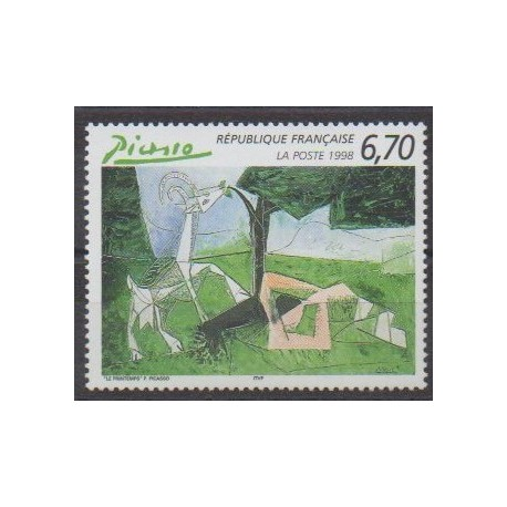 France - Poste - 1998 - Nb 3162 - Paintings