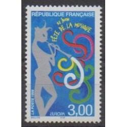 France - Poste - 1998 - Nb 3166 - Music