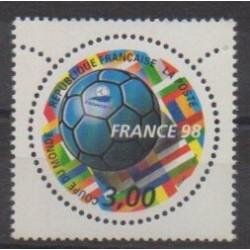 France - Poste - 1998 - No 3139 - Coupe du monde de football