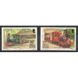 Man (Ile de) - 1993 - No 576/577 - Trains
