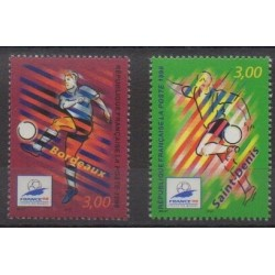 France - Poste - 1998 - Nb 3130/3131 - Soccer World Cup