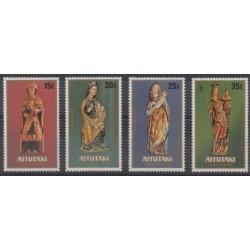 Aitutaki - 1980 - Nb 270/273 - Art