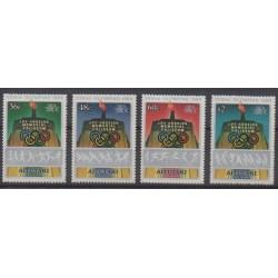 Aitutaki - 1984 - No 400/403 - Jeux Olympiques d'été