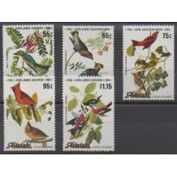 Aitutaki - 1985 - Nb 419/423 - Birds