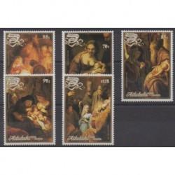 Aitutaki - 1988 - Nb 476/480 - Christmas