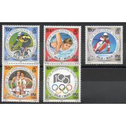Man (Ile de) - 1994 - No 645/649 - Jeux olympiques d'été