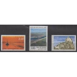 France - Poste - 1998 - No 3167/3169 - Sites