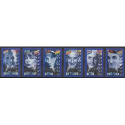 France - Poste - 1998 - No 3187/3192 - Cinéma