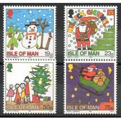 Man (Ile de) - 1996- No 739/742 - Noël