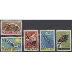 Russie - 1962 - No 2529/2533 - Sport