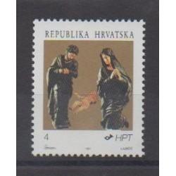 Croatia - 1991 - Nb 145 - Christmas