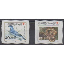 Croatia - 1992 - Nb 167/168 - Animals