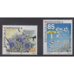 Croatia - 1992 - Nb 165/166 - Flowers