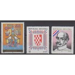 Croatia - 1992 - Nb 146/148