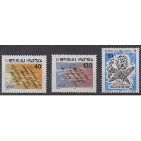 Croatia - 1992 - Nb 173/175