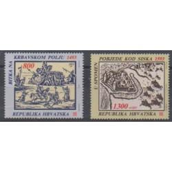 Croatia - 1993 - Nb 205/206 - Military history