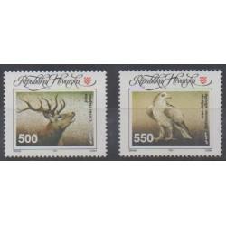 Croatia - 1993 - Nb 184/185 - Animals