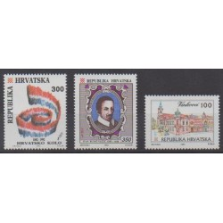 Croatia - 1992 - Nb 178B/179