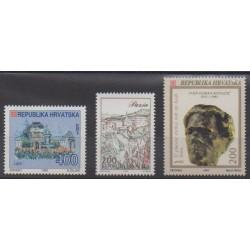 Croatia - 1993 - Nb 188/190