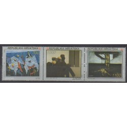 Croatia - 1993 - Nb 197/199 - Paintings - Europa