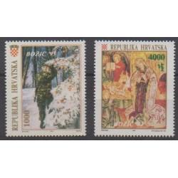 Croatie - 1993 - No 215/218 - Noël