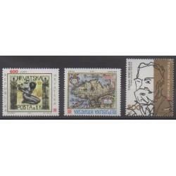 Croatia - 1993 - Nb 210/212