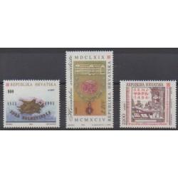 Croatia - 1994 - Nb 219/221