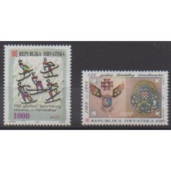 Croatia - 1993 - Nb 217/218
