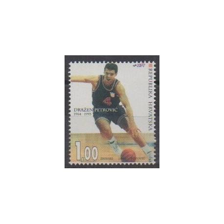 Croatia - 1994 - Nb 232 - Various sports