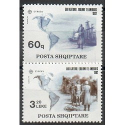 Albania - 1992- Nb 2291/2292 - Christopher Colombus