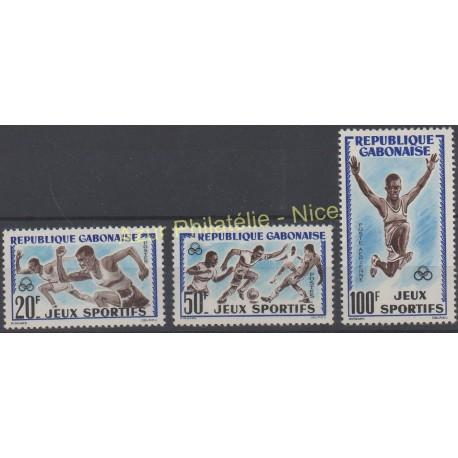 Gabon - 1962 - No 161/162 - PA 6 - Sport