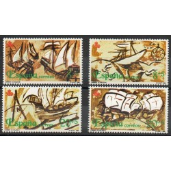 Espagne - 1990- No 2691/2694 - Christophe Colomb