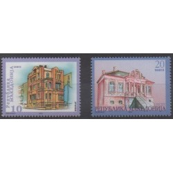Macedonia - 2003 - Nb 274/275 - Architecture