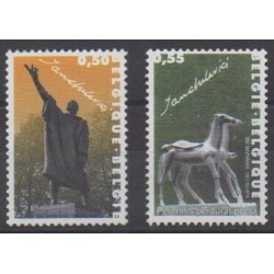 Belgique - 2004 - No 3296/3297 - Art