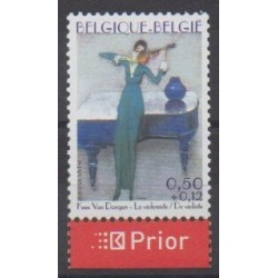 Belgium - 2005 - Nb 3334 - Paintings - Music