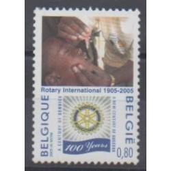 Belgium - 2005 - Nb 3337 - Rotary or Lions club
