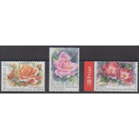 Belgium - 2005 - Nb 3368/3370 - Roses