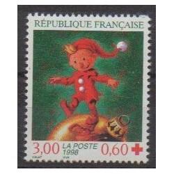 France - Poste - 1998 - No 3199a - Santé ou Croix-Rouge