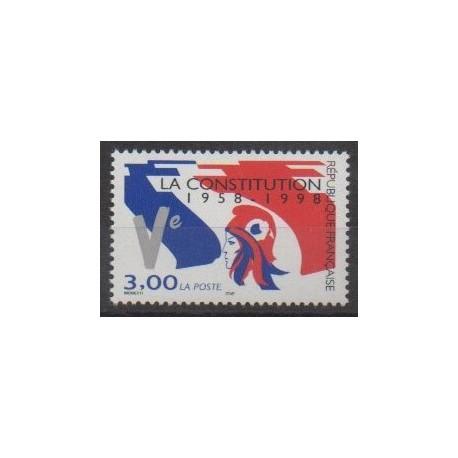 France - Poste - 1998 - Nb 3195 - Various Historics Themes
