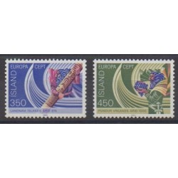 Iceland - 1982 - Nb 531/532 - Various Historics Themes - Europa