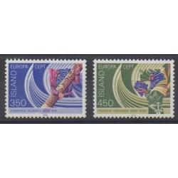 Islande - 1982 - No 531/532 - Histoire - Europa